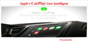Apple's CarPlay Gets Intelligent