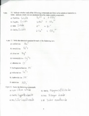 CHM 2045 quiz chapter 3&6