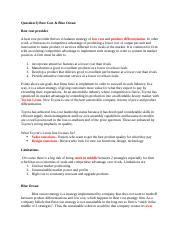 Exam prep_Best Cost& Blue Ocean.docx