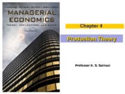 Chapter 4 (Production Theory)