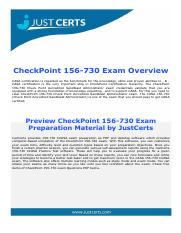 156-730 Check Point Accredited Sandblast Administrator Exam Dumps