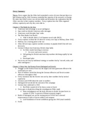 world war ii study notes essay