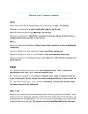 Personal Study Conditions Inventory(2).docx