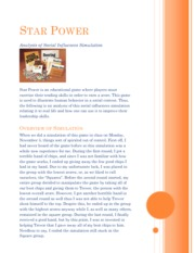 Star Power one pager - mgt 331