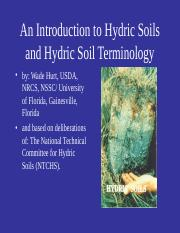 Unit 4 Hydric Soil Lecture.ppt