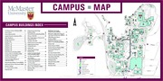 McMaster Campus Map