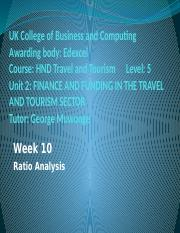 Financial Ratio analysis 12