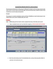 Accounting process for PETTY CASH in Oracle.docx