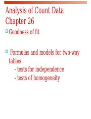 chap26 comparing counts.ppt