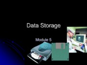 Chapter 5 - Data Storage