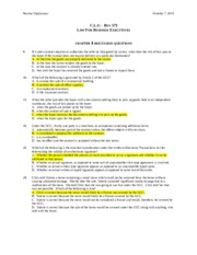 Chapter 8 Discussion Questions-law.doc