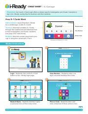 iready how to k 1 card login 2017 pdf cheat sheet k1 card login