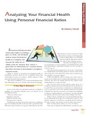 analyzing-your-financial-health-using-personal-financial-ratios