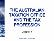4 (The Australian Taxation Office and the Tax Profession)[1]
