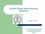 Activity Based modelling doc