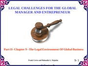 Chapter9 Legal Challenges
