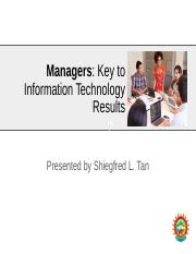 Managers - Key to IT Results.pptx