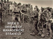 Strategy Week 2's Lecture