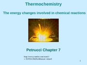 c7. Thermochemistry