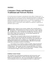 Chapter 8 Consumer Choice.com