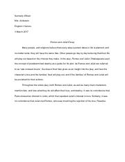 Romeo and Juliet Essay.pdf