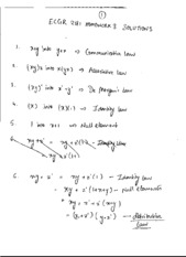 Homework 3 Version 2 Solution