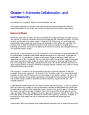 Chapter+4+Networks,+Collaboration+and+Sustainability+-+Turban