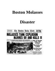 Boston Molasses Disaster.docx