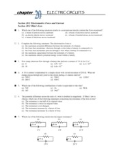 Ch 20 Practice Test