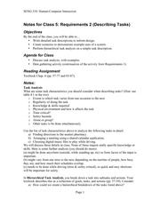 05_ Requirements 2 (Describing Tasks) notes