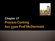Ch 17 process costing