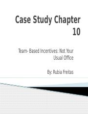 Case Study Chapter 10