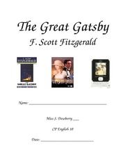 Great_Gatsby_Study_Guide