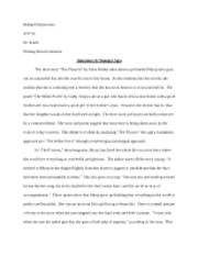 Lit Research Paper