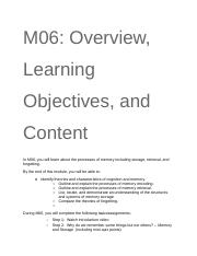 M06_ Overview, Learning Objectives, and Content.docx