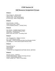 FYDP GW Resource Assignment Groups-1