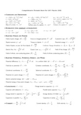Comprehensive Formula Sheet 2102
