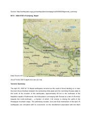 Nepal Earthquake Sources.docx