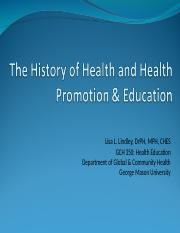 Chapter 2 History of Health & Health Promotion & Education.ppt