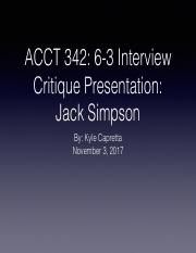 ACCT 342: Interview Critque Presentation PDF.pdf