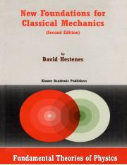 D. Hestenes New Foundations for Classical Mechanics .pdf