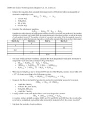 chem131 exam 3 review packet