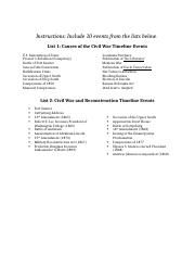 Civil War and Reconstruction Timeline (1) (2).docx