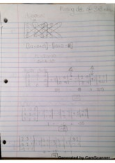 Finding Determinants Class Notes