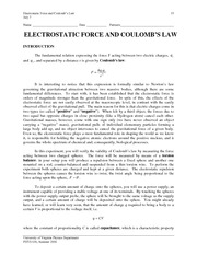2 - Electrostatic Force & Coulomb's Law.v1.4-10-06