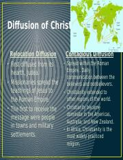 Diffusion of Christianity.pptx