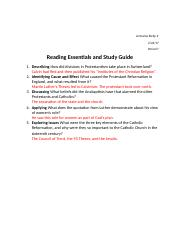 Ch. 10, Lesson 2 - Reading Essentials