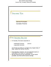 Income Tax Canada, General Principles, 2ppg.pdf
