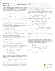 PHYS 21 Fall 2014 Homework 2 Solutions