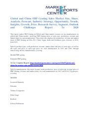 FRP+Grating+Sales+Market+Size+Report+To+2020+-+Market+Reports+Center+.pdf